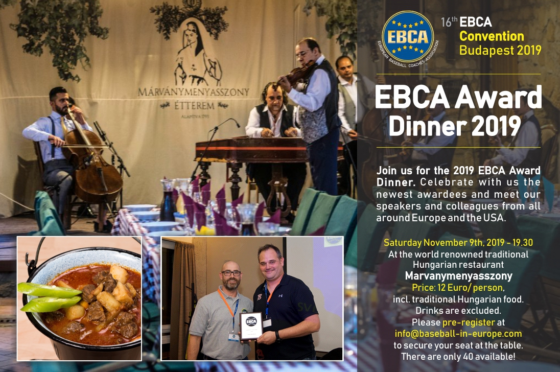 EBCA Award Dinner 2019 - Click for a larger version