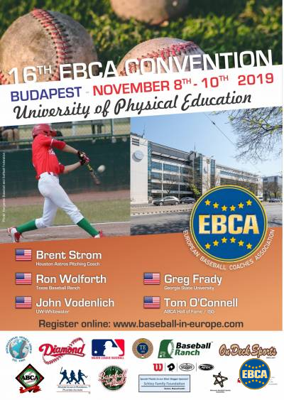 Pre-registration for the 16th EBCA Convention 2019 is now open